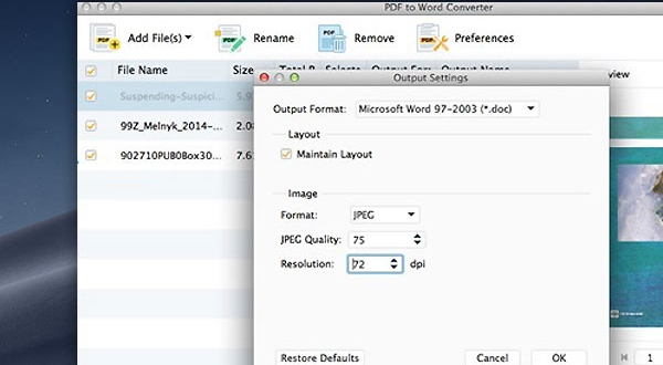 aiseesoft pdf to word convertisseur ocr macos mac 2 600x330 - PDF to Word Converter Mac - Convertisseur PDF vers Word avec OCR (gratuit)