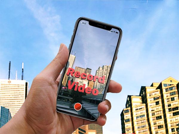 ar placer cam iphone 1 - AR Placer Cam iPhone - Ajouter du Texte 3D en Video et RA (gratuit)