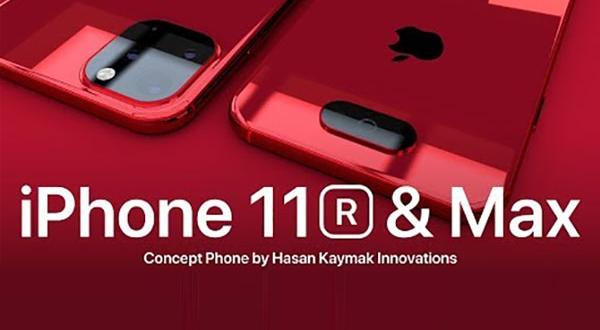 concept iphone xi 11 plusieurs capteurs photo 1 600x330 - Nouveaux APN iPhone 11R et 11 Max en Concept (video)
