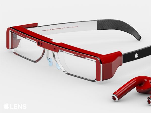concept lunettes ar apple lens antonio de rosa 2 - Lunettes Apple de Réalité Augmentée Révélées en Concept (video)