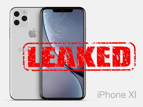 concept rumeurs fuites 2019 iphone 11 max xi video 1 - Fuites du Prochain iPhone XI dans un Concept (vidéo)