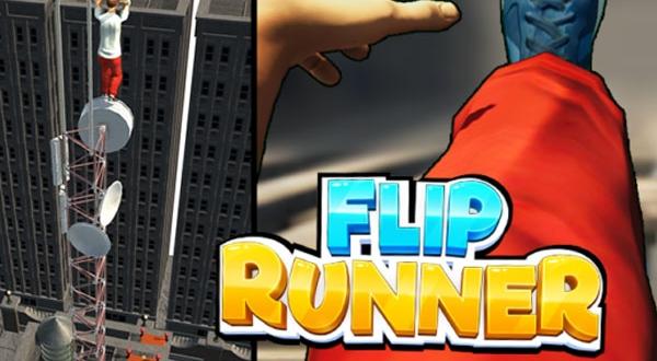 flip runner jeu iphone ipad ios gratuit 1 600x330 - Flip Runner iPhone iPad - Simulation 3D de Parcours Urbains (gratuit)