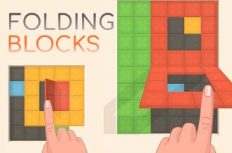 Jeu video Folding Blocks iOS