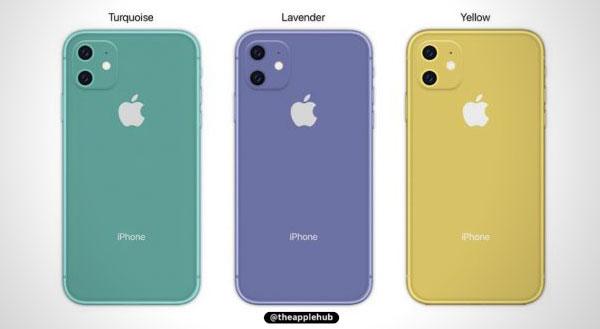 iphone xr lavender vert mockup concept 3 - L'iPhone XI et ses Nouvelles Couleurs en Concepts