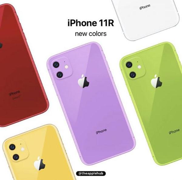 iphone xr lavender vert mockup concept 4 - L'iPhone XI et ses Nouvelles Couleurs en Concepts