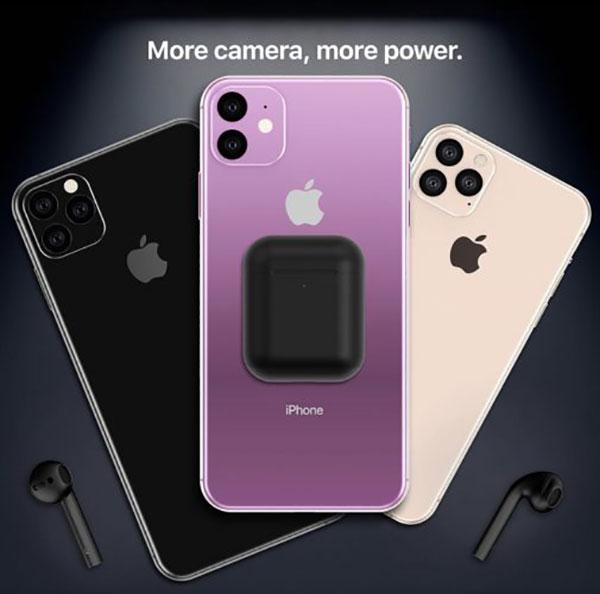 iphone xr lavender vert mockup concept 6 - L'iPhone XI et ses Nouvelles Couleurs en Concepts