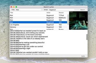 lyricsx macos mac gratuit 2 331x219 - LyricsX Mac - Ajouter les Paroles des Chansons sur iTunes (gratuit)