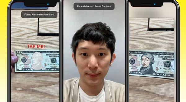 notable me iphone ipad ios 1 600x330 - Notable Me iPhone - Votre Tête sur les Billets de Banque (gratuit)