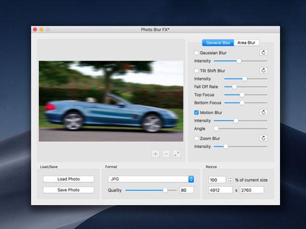photo blur fx image blur and focus effects macos mac 1 - Photo Blur FX Mac - Effets de Flou et de Mise au Point (gratuit)