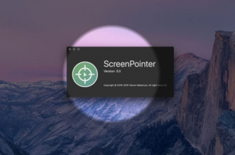 screenpointer macos mac 1 331x219 - ScreenPointer Mac - Met en Evidence le Pointeur de la Souris (gratuit)