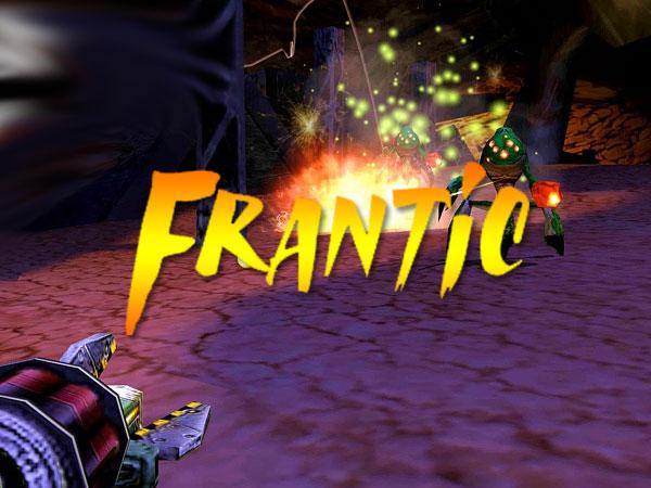 jeu frantic macos mac iphone ipad gratuit 1 - Frantic Mac iOS - Un Palpitant Jeu de Tir FPS en 3D (gratuit)