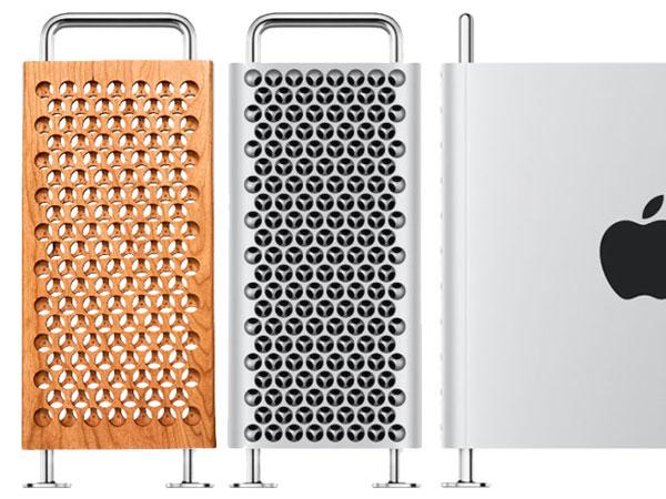 mac pro 2009 en bois grille 1 - Il Fabrique en Bois la Grille du Mac Pro 2019 (video)