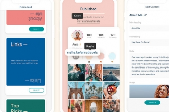 milkshake ig website builder iphone ipad gratuit 331x219 - Milkshake iPhone - Créer un Mini Site pour le Profil Instagram (gratuit)