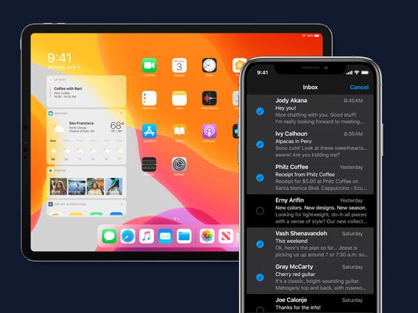 nouvel ios 13 nouveautes date 1 - Le Nouvel iOS 13 est enfin là Voici les Nouveautés (images)