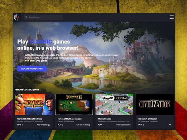 playclassic games jeux video gratuit en ligne 1 - Play Classic Games, le Netflix des Jeux Vidéo Rétro (gratuit)