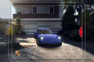 porsche ar visualizer iphone ipad 2 331x219 - Porsche AR Visualizer iPhone iPad - Garer une Porsche dans votre Garage (gratuit)