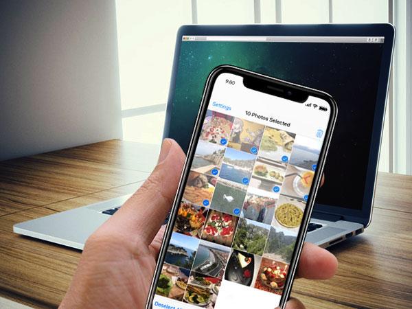 rollit photo transfer app iphone ipad 1 - Rollit iPhone - Transférer du Mac en USB Photos et Videos (gratuit)