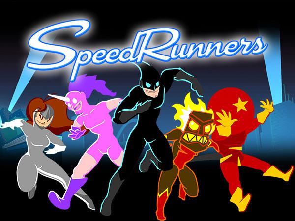 speedrunners jeu iphone ipad ipod touch gratuit - SpeedRunners iPhone iPad - Jeu de Plateforme Super Speed (gratuit)