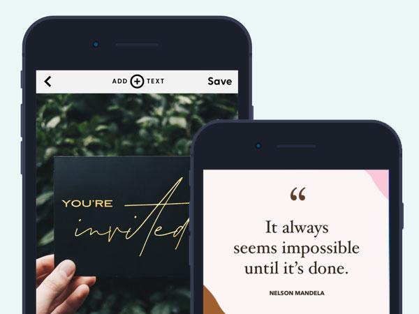 word swag cool fonts iphone ipad 2 - Word Swag iPhone iPad - Mise en Page de Texte en Photo (gratuit)