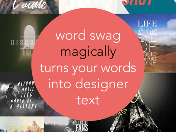 word swag cool fonts iphone ipad 3 - Word Swag iPhone iPad - Mise en Page de Texte en Photo (gratuit)