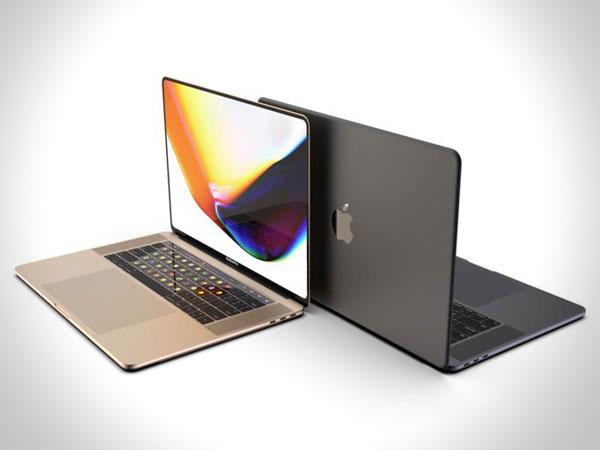 concept macbook pro ecran 16 pouces 1 - Superbe MacBook Pro 16 avec Clavier OLED en Concept (video)