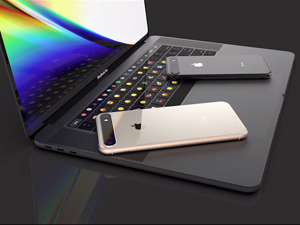 concept macbook pro ecran 16 pouces 6 - Superbe MacBook Pro 16 avec Clavier OLED en Concept (video)