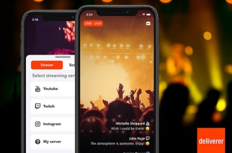 deliverer iphone ipad 1 331x219 - Deliverer iPhone iPad - Diffuser en Direct sur YouTube, Twitch, Instagram (gratuit)