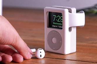 elago w6 stand support montre apple watch ipod 01 331x219 - Ce Support Transforme l'Apple Watch en Mini iPod (images)