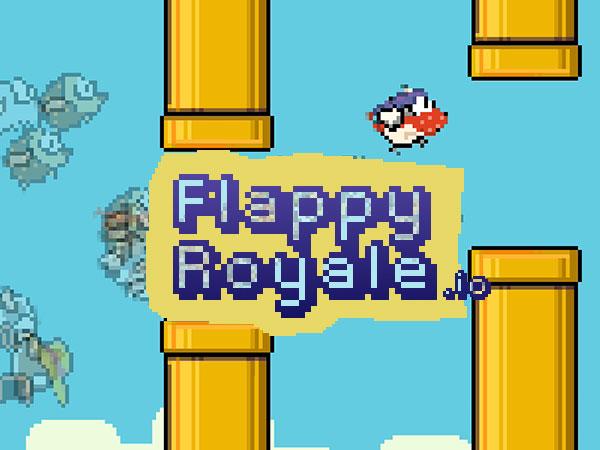 flappy royale jeu iphone ipad ios 1 - Flappy Royale iPhone iPad - Clash Royal pour le Petit Oiseau (gratuit)
