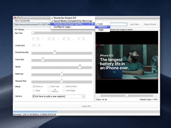 instagiffer macos mac gratuit - Instagiffer Mac - Convertit les Images GIF en Video Instagram (gratuit)