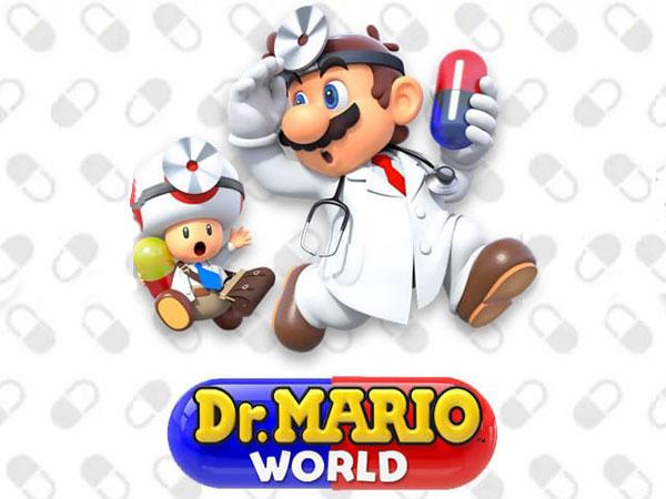 nintendo dr mario world jeu iphone ipad 1 - Dr. Mario World iPhone iPad - Jeu de Tile-Matching Addictif (gratuit)