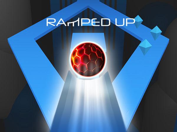 ramped up jeu iphone ipad 1 - Ramped Up iPhone - Jeu de Parkour de Balle en 3D (gratuit)