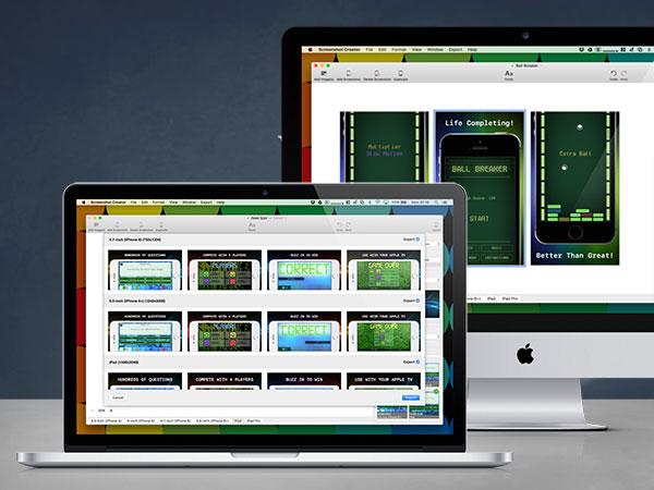 screenshot creator macos mac 1 - Screenshot Creator Mac - Générateur de Mockups pour Apps (gratuit)