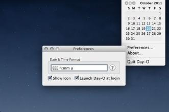 day 0 app macos mac 331x219 - Day-O Mac - Horloge Calendrier dans la Barre des Tâches (gratuit)