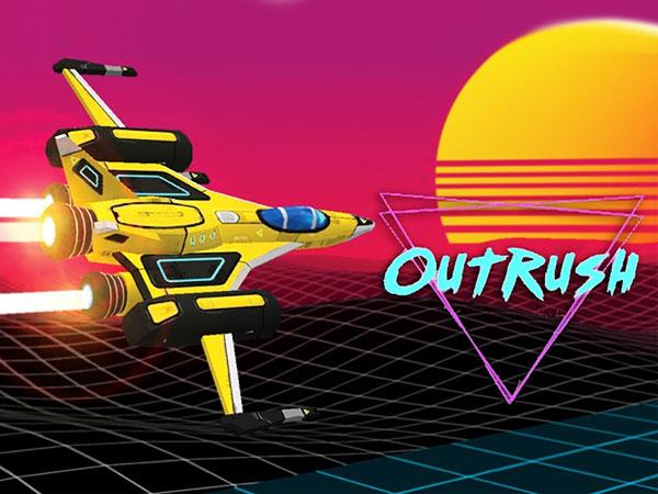 outrush synthwave action jeu iphone ipad 01 - OutRush iPhone iPad - Jeu d'Arcade à l'Ancienne (gratuit)