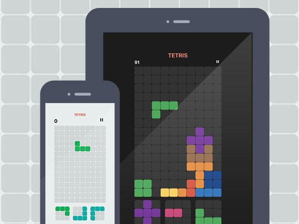 tetris clone jeu copie iphone ipad gratuit 1 - Tetris! iPhone iPad - Le Meilleur Clone du Jeu Tetris (gratuit)