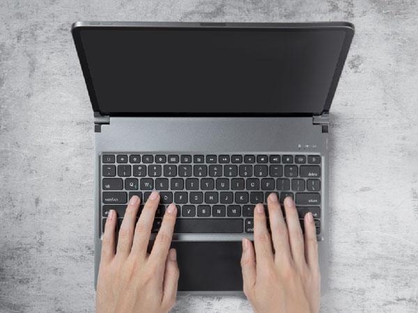 libra clavier sans fil avec trackpad ipad pro 01 - La Coque Libra Transforme l'iPad Pro en MacBook Pro
