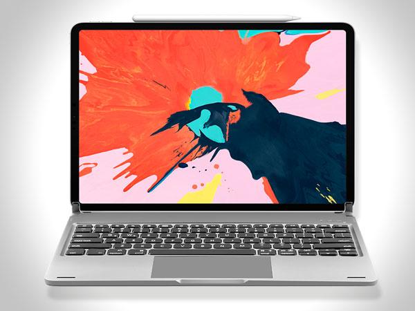 libra clavier sans fil avec trackpad ipad pro 02 - La Coque Libra Transforme l'iPad Pro en MacBook Pro