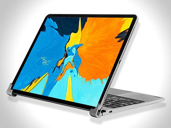 libra clavier sans fil avec trackpad ipad pro 03 - La Coque Libra Transforme l'iPad Pro en MacBook Pro