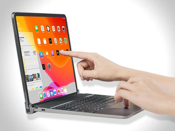 libra clavier sans fil avec trackpad ipad pro 04 - La Coque Libra Transforme l'iPad Pro en MacBook Pro