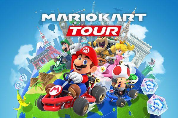 nintendo mario kart tour jeu iphone ipad gratuit 01 600x400 - Mario Kart Tour iPhone iPad - Le Jeu de Nintendo est Dispo (gratuit)