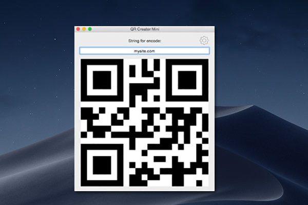 qr creator mini macos mac 01 600x400 - QR Creator Mini Mac - Générer des Codes QR en un Clic (gratuit)