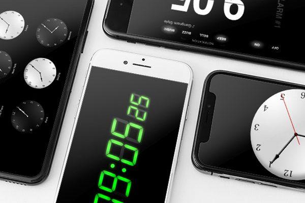the clocks alarme reveil iphone ipad maxiapple 600x400 - The Clocks iPhone iPad - Horloge Mondiale et Radio Reveil (gratuit)