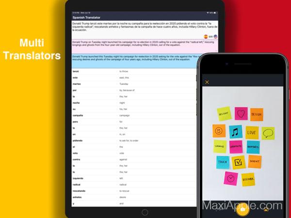 3m post it macos mac ios iphone ipad maxiapple 03 - Post-it Mac iPhone iPad - Bloc Notes Collaboratif par 3M (gratuit)