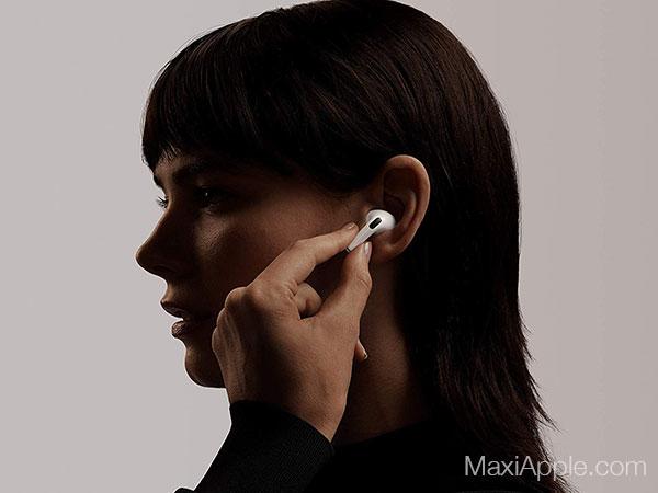 apple airpods pro ecouteurs sans fil bluetooth prix 1 - Les AirPods Pro intra-Auriculaires pour Mélomanes sont Dispo