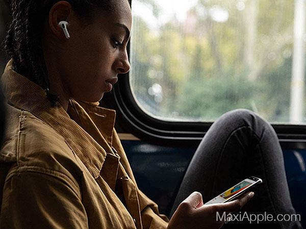 apple airpods pro ecouteurs sans fil bluetooth prix 3 - Les AirPods Pro intra-Auriculaires pour Mélomanes sont Dispo