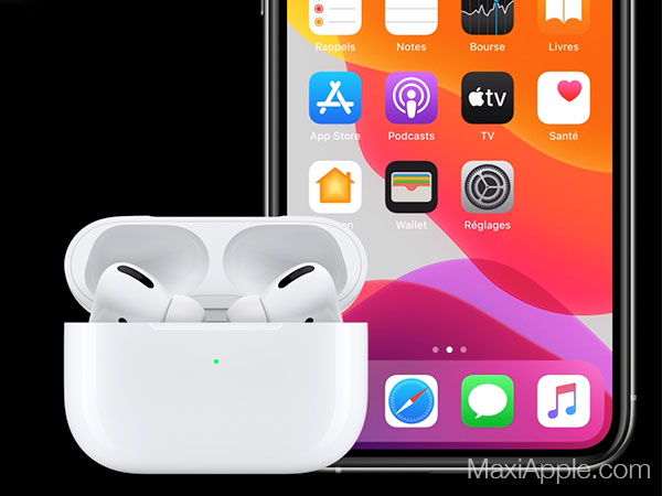 apple airpods pro ecouteurs sans fil bluetooth prix 5 - Les AirPods Pro intra-Auriculaires pour Mélomanes sont Dispo