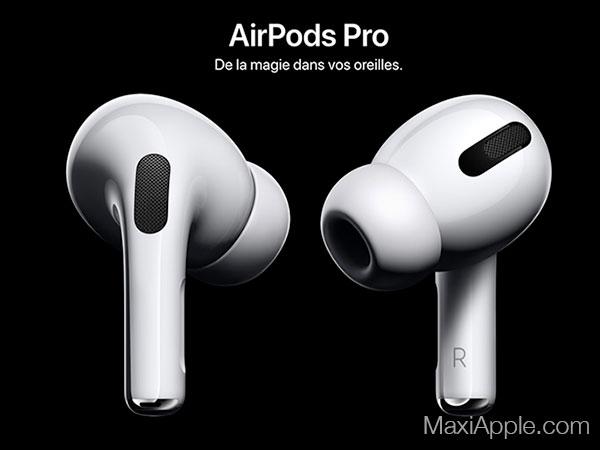 apple airpods pro ecouteurs sans fil bluetooth prix 6 - Les AirPods Pro intra-Auriculaires pour Mélomanes sont Dispo