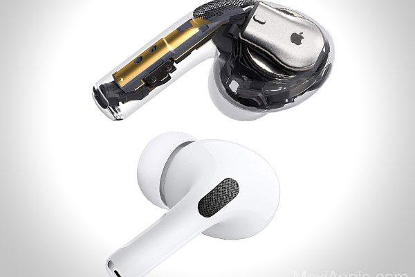 apple airpods pro ecouteurs sans fil bluetooth prix 7 600x400 - Les AirPods Pro intra-Auriculaires pour Mélomanes sont Dispo