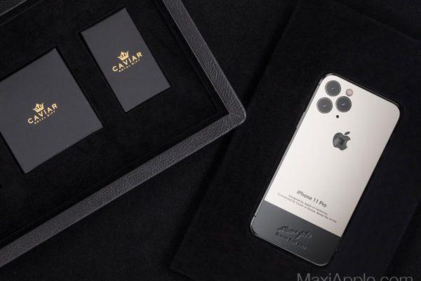 caviar iphone 11 pro superior jobs maxiapple 06 600x400 - iPhone 11 Pro en Hommage à Steve Jobs chez Caviar